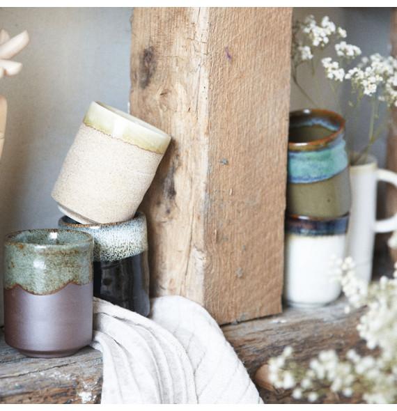 Tasse à thé brut, 5 couleurs à choix