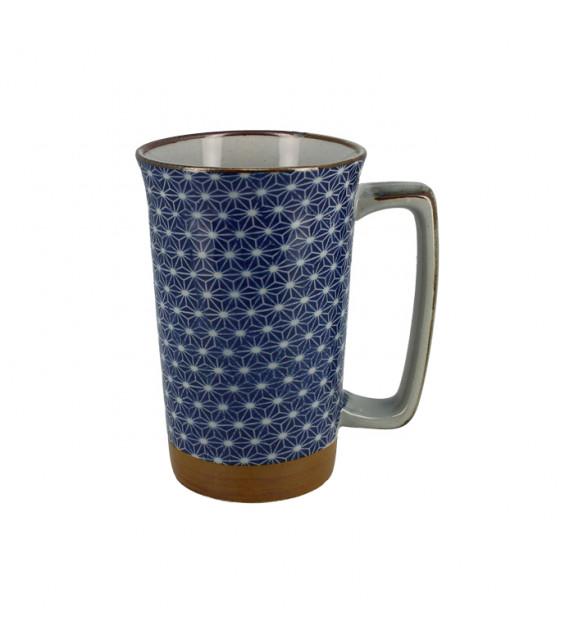 Large single mug asanoha