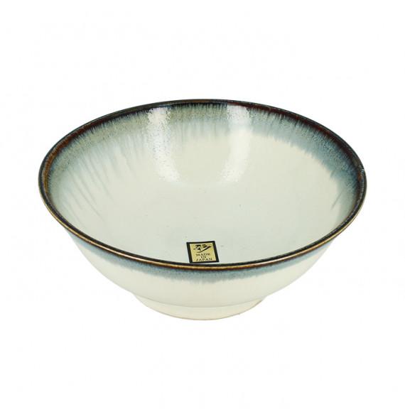 Large white bowl milky