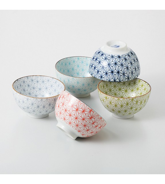 "Set of 5 bowls ""sachiko"""