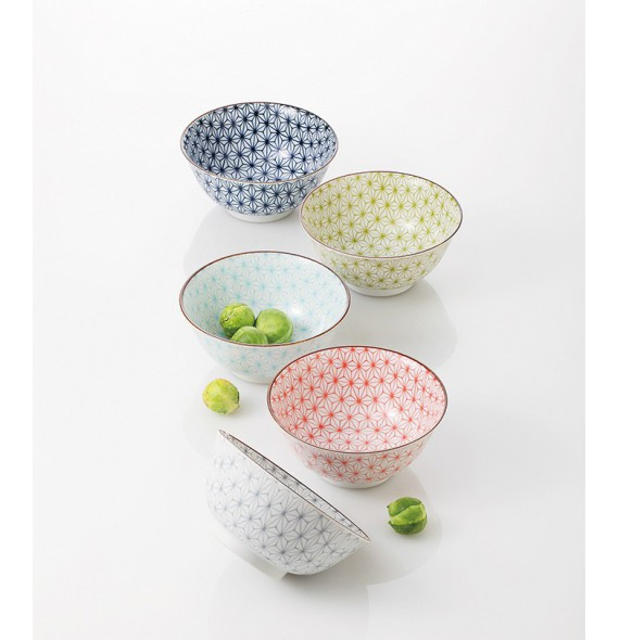 "Set of 5 bowls ""sachiko"""