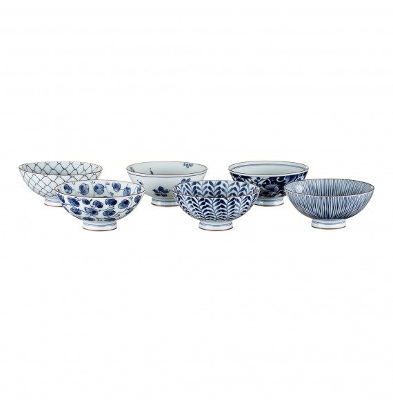 "Set 5 bowls ""pollen"""