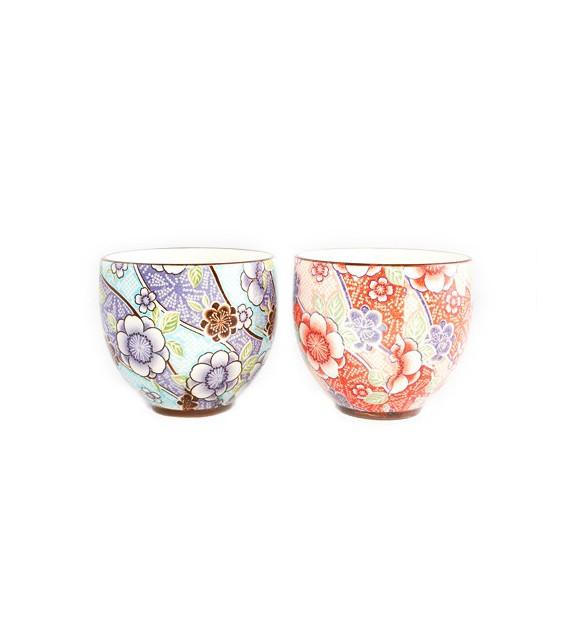 Set de 2 tasses à thé tsubaki