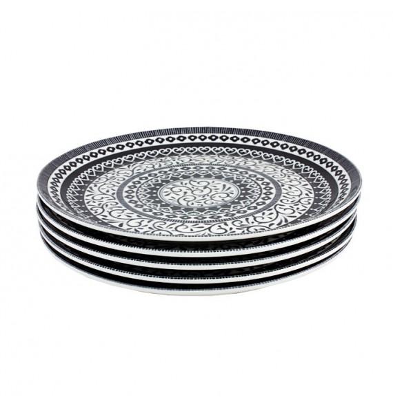 Set of 5 plates