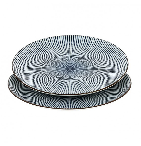 Set of 2 plates tokusa