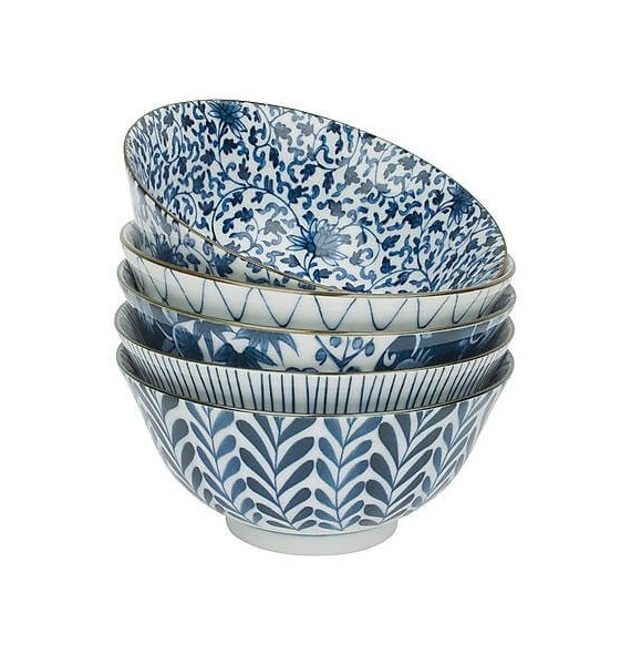 Set of 5 bowls