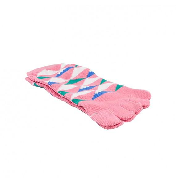 Socke mit zwei fingern