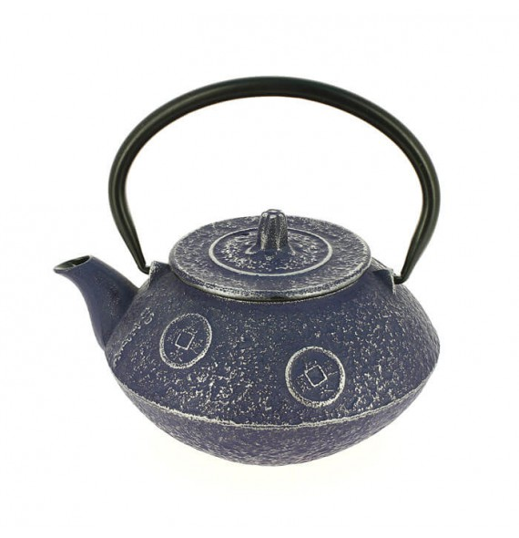 Teapot cast iron japanese kozeni