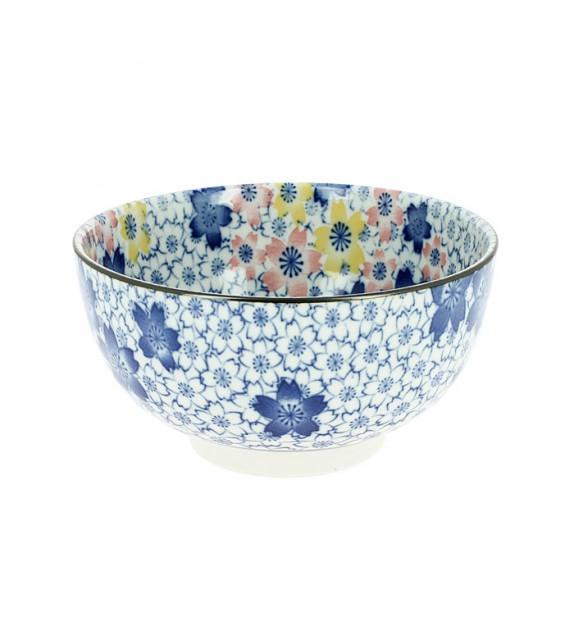 Medium bowl has the unit sakura