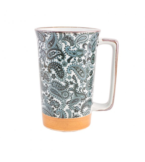 Mug japonais grand arabesque