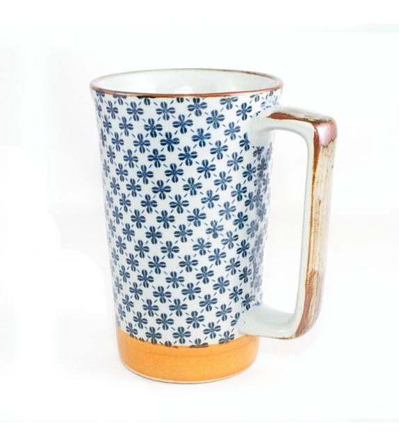 Grand mug Japonais trefles