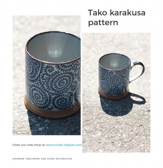 Tazza con manico takokarakusa
