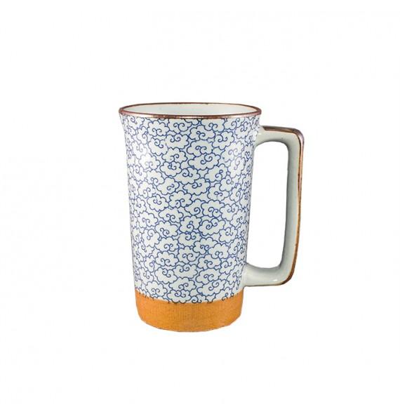 Large mug Japanese trefles