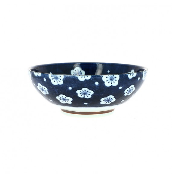 Bowl flowers white