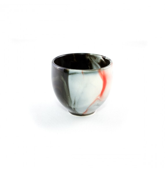 Tee-Tasse mit farbverlauf