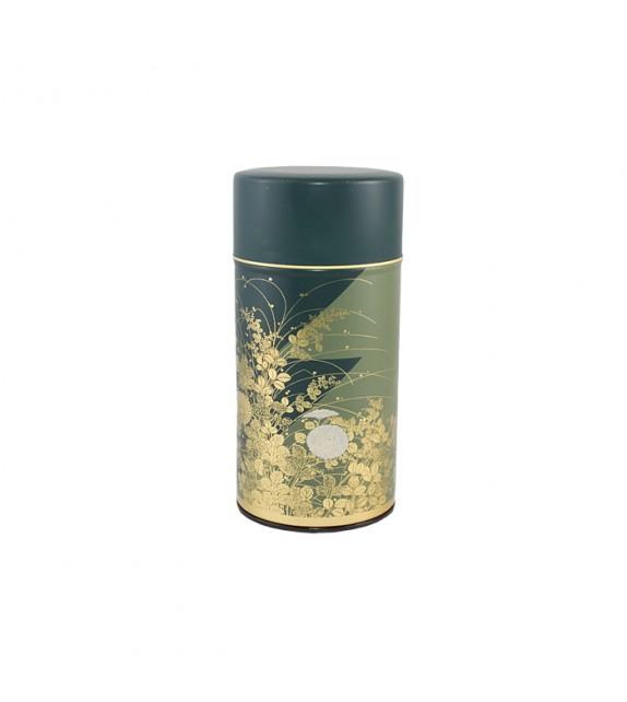 Boîte à thé en fer blanc