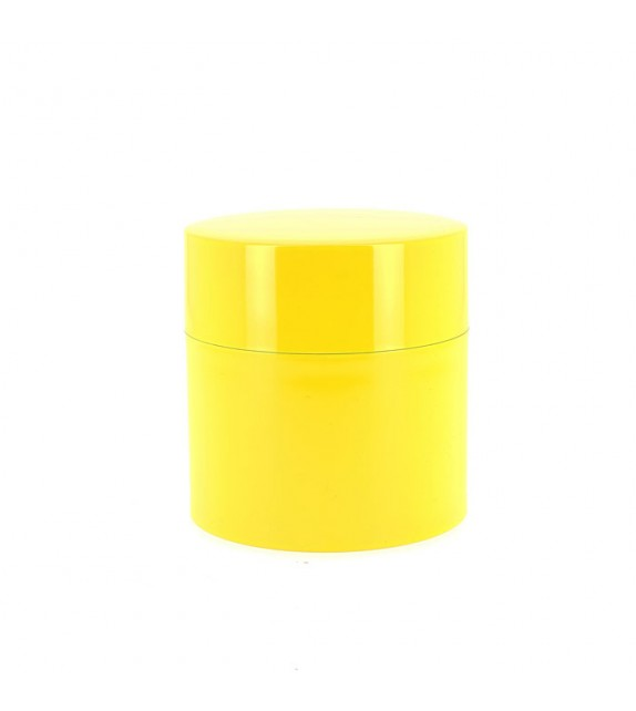 Boîte à thé jaune