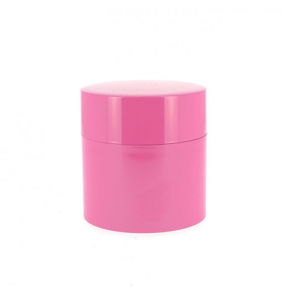Boîte à thé rose