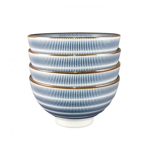 Set of 5 bowls / 2 colors choice