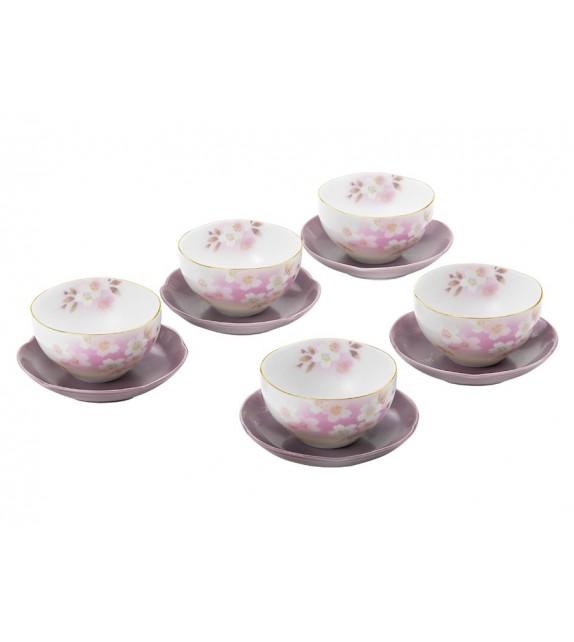 Tea purple flowers