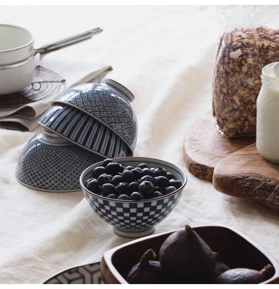 Set of 5 bowls graphics