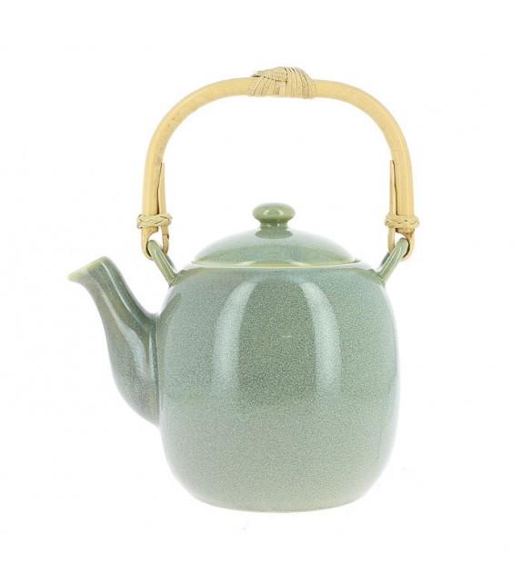Teekanne aus porzellan, moderne