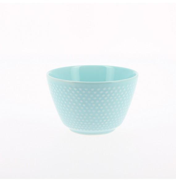 Tasse à l'unité style araré bleu