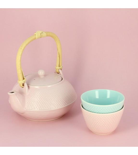 Teiera in stile araré rosa