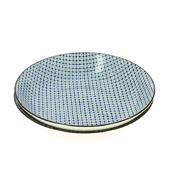 Set of 2 plates point