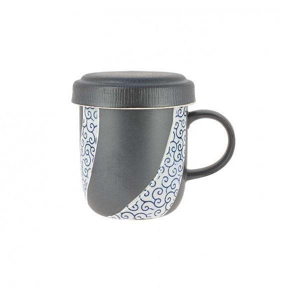 Tisanière keramik mit deckel
