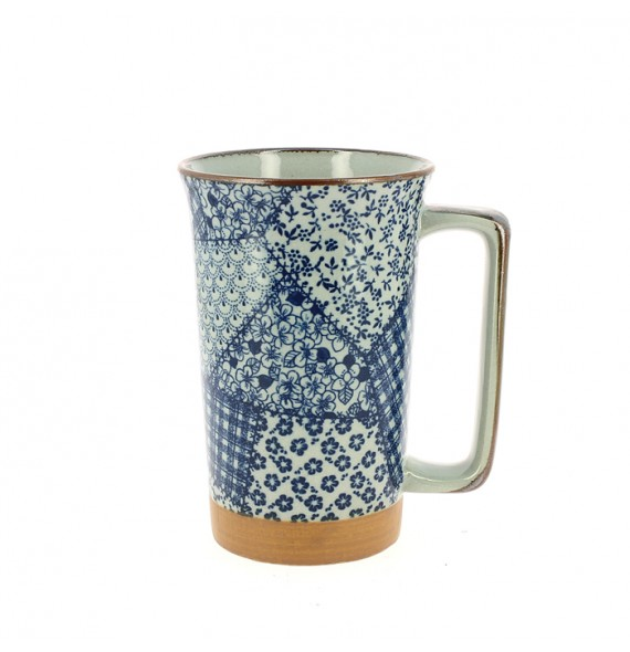 Grand mug Japonais patchwork