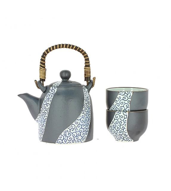 Set da tè giallo
