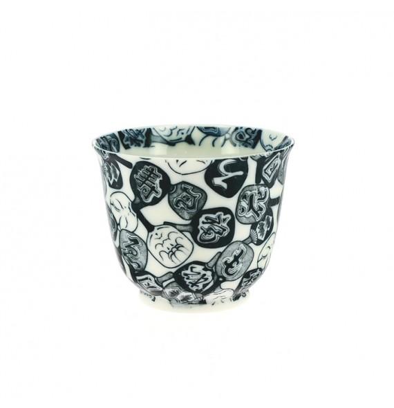 Tee-Tasse aus porzellan sehr fein