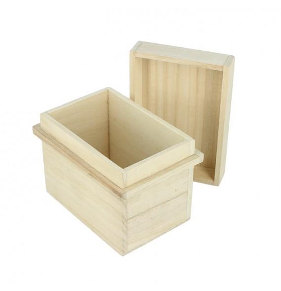 Boîte en bois pour le thé