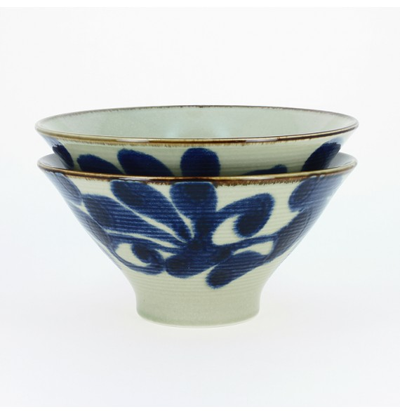Set of 2 large bowl traditional