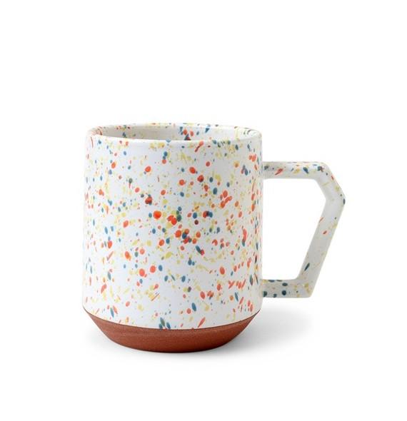 Mug moderne en porcelaine à l'unité
