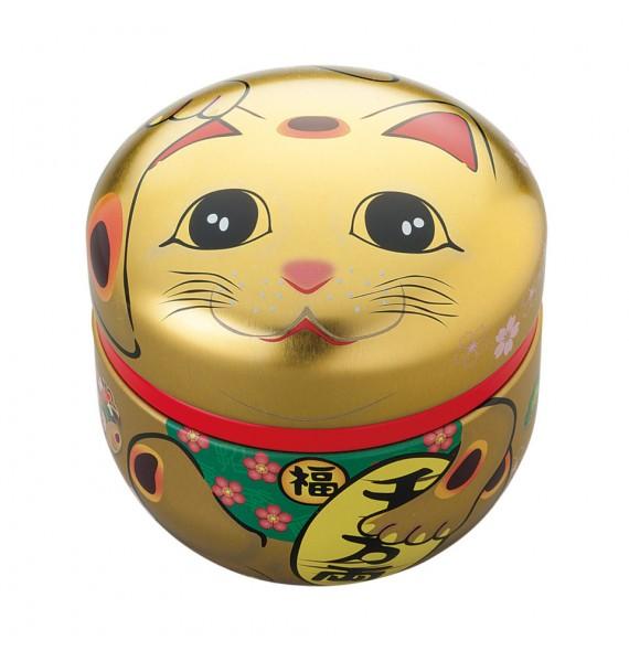 Boîte à thé maneki neko