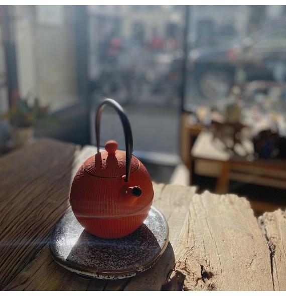 Teekanne gusseisen Japanische moderne