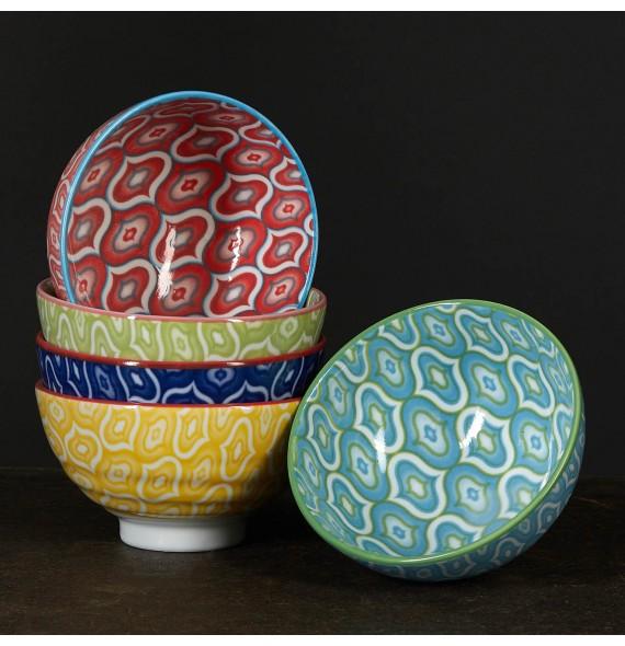 Set de 5 bols couleurs