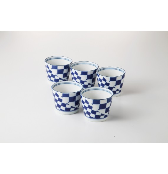 Set de 5 tasses soba
